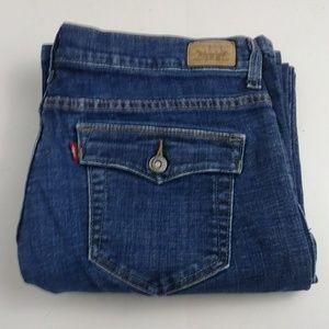 Levi's 512 Women's bootcut jeans size 16 short